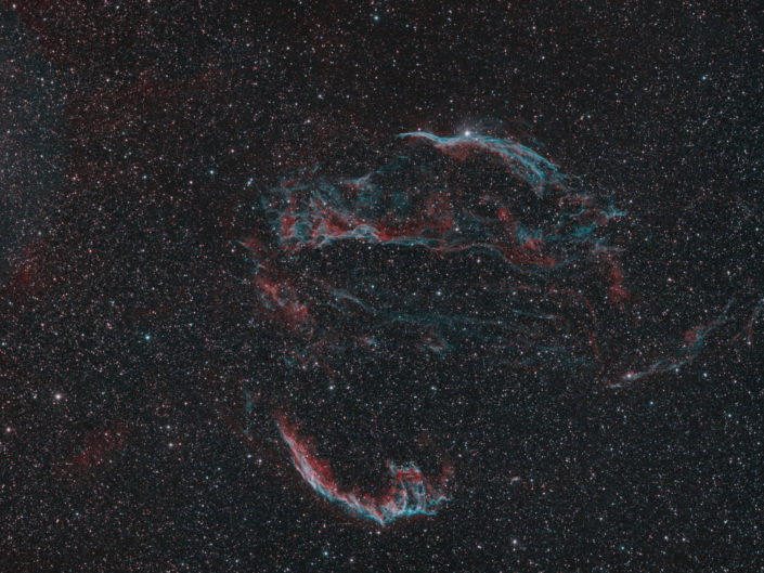 Cirrus Nebula (Cirrusnebel), France, Banon, 2014