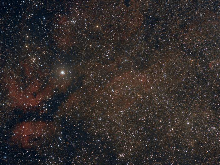 IC 1318 - Gamma Cygni Nebula, Krefeld 2011