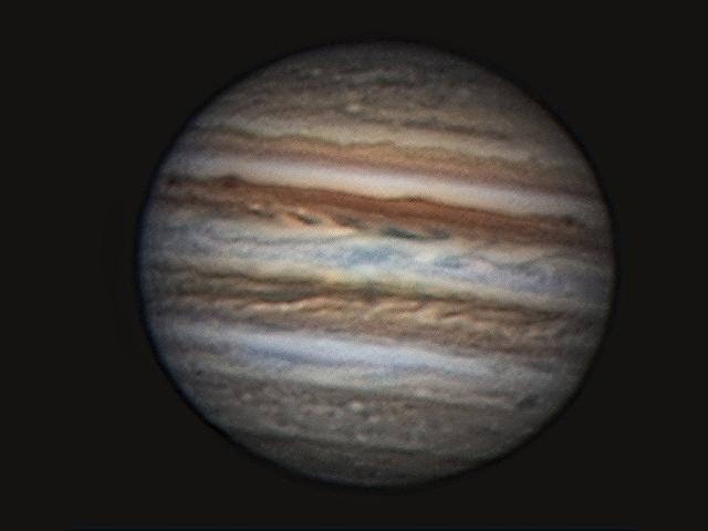 Jupiter (in cooperation with Elmar Rixen), Namibia, Tivoli, 2008-06-29