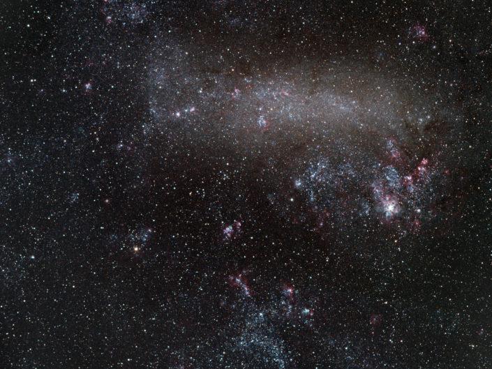 Large Magellanic Cloud - Große Magellansche Wolke, Namibia, Tivoli, 2013