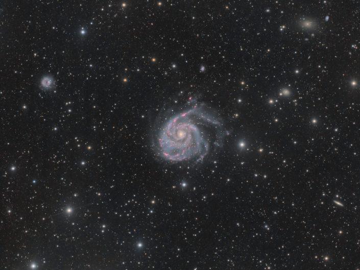Messier 101 - Pinwheel Galaxy (Feuerrad-Galaxie), (DSW), New Mexico, 2019