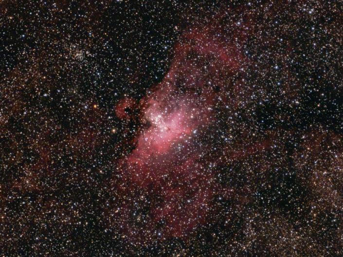 Messier 16 - Eagle Nebula (Adlernebel), Namibia, Tivoli, 2008