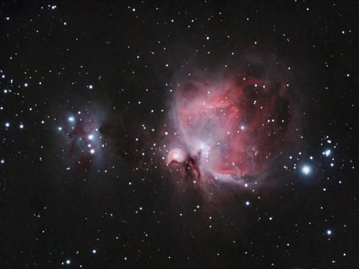 Messier 42 - Orion Nebula, Krefeld, 2008