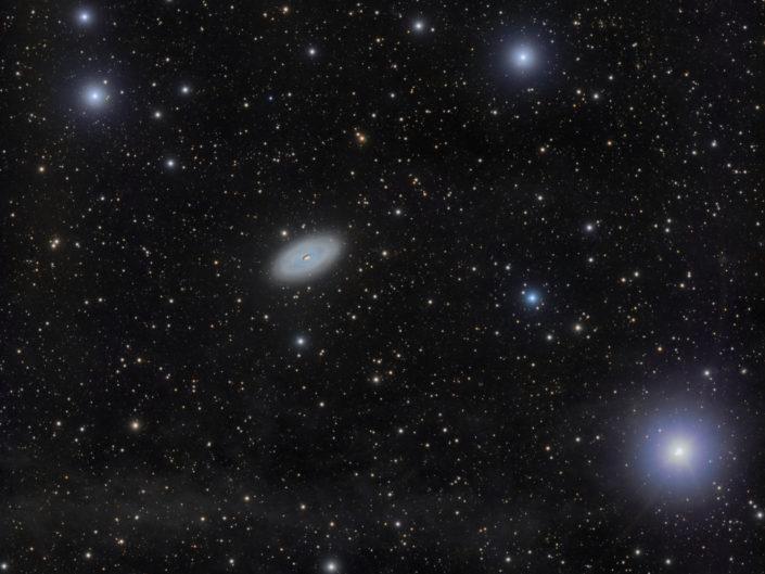 Messier 64 - Black Eye Galaxy (DSW), New Mexico, 2018