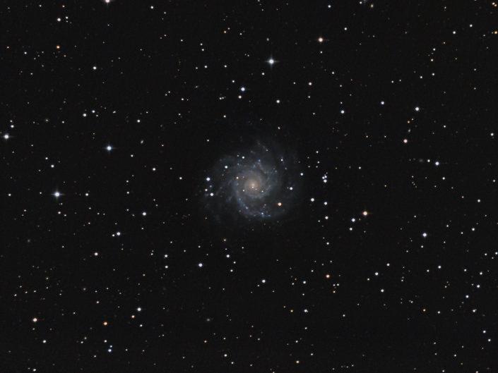 Messier 74, France, Banon, 2011