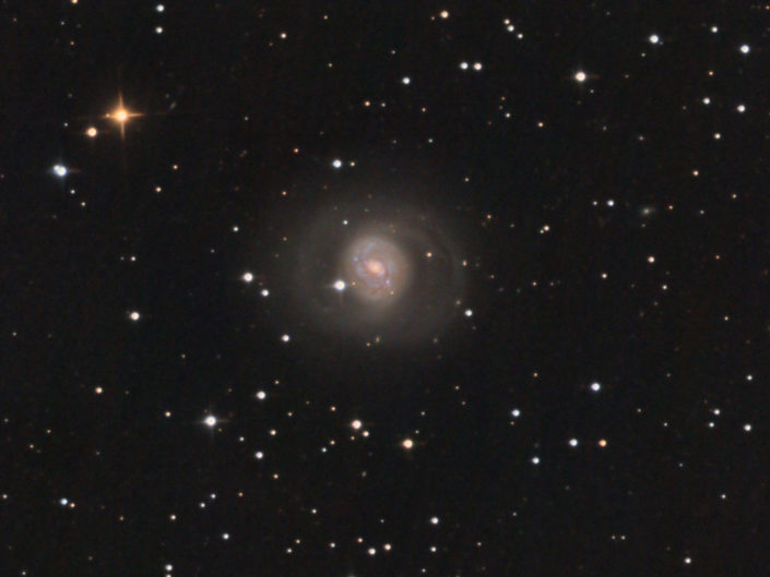 Messier 77, France, Banon, 2011