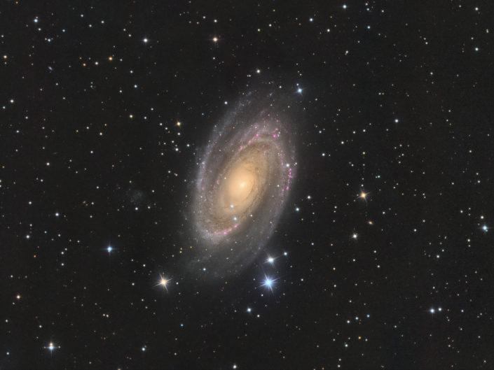 Messier 81 - Bode's Galaxy, Krefeld, 2018