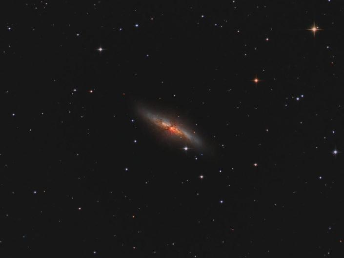 Messier 82 - Cigar Galaxy (Zigarrengalaxie), Krefeld, 2012