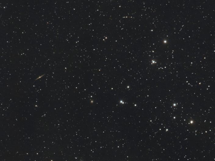 Melotte 111 - Coma Cluster, Krefeld, 2014