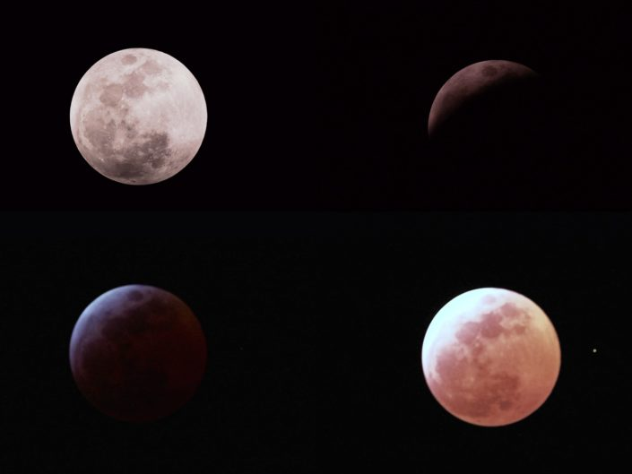 Lunar Eclipse, Krefeld, 2007-03-03