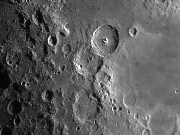 Moon (Theophilus, Cyrillus, Catharina), Krefeld, 2009-04-01