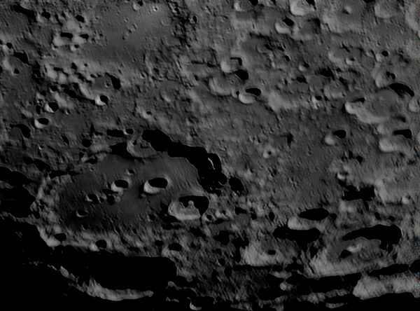 Moon (Clavius), Krefeld, 2007-03-30