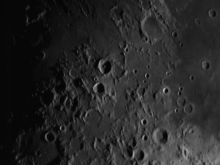 Moon (Julius Caesar, Agrippa, Delambre, Rima Aridaeus), Krefeld, 2009-03-03