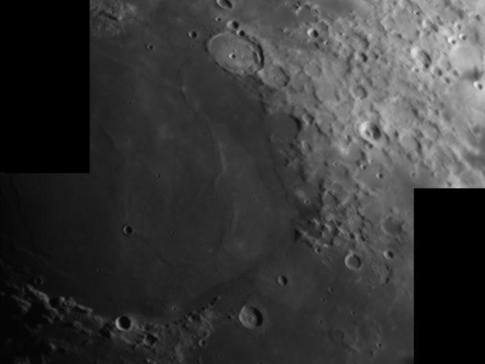 Moon (Posidonius, Buerg, Franklin, Cepheus), Krefeld, 2009-04-01