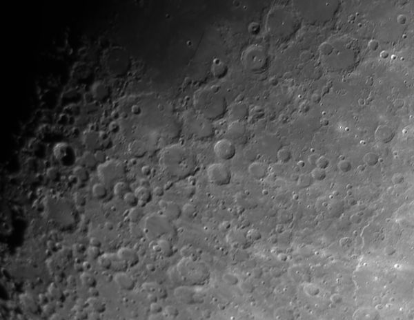 Moon (Arzachel, Purbach, Regiomontanus), Krefeld, 2012-02-01