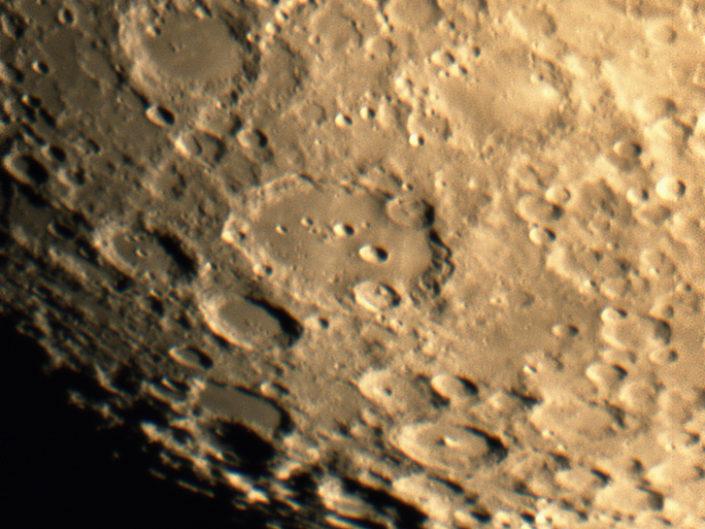 Moon (Clavius, Tycho, Moretus, Casatus), Krefeld, 2016-09-12