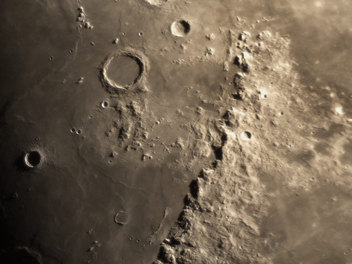 Moon (Archimedes, Autolycus, Aristillus, Timocharis), Krefeld, 2017-01-06