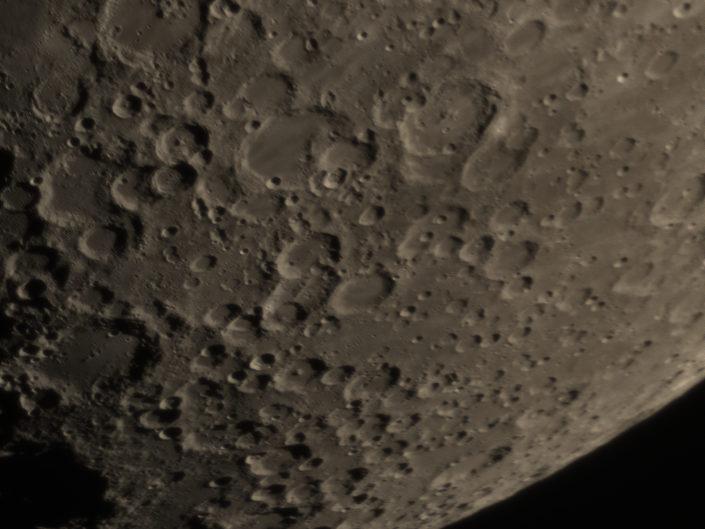 Moon (Maginus, Orontius, Walther, Maurolycus), Krefeld, 2017-01-06