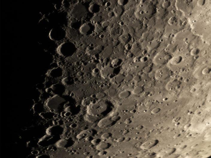 Moon (Apianus, Aliacensis, Stoefler, Maurolycus, Jacobi), Krefeld, 2018-02-22
