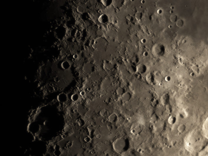 Moon (Hipparchus, Albategnius, Albufeda, Delambre, Agrippa), Krefeld, 2018-02-22