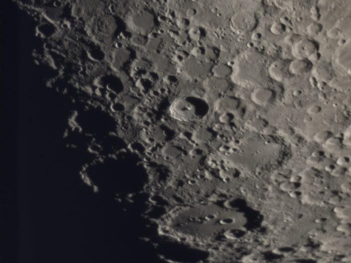 Moon (Clavius, Tycho, Pitatus), Krefeld, 2018-02-24