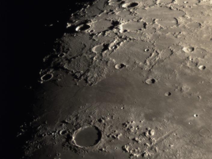 Moon (Plato, Alpental, Fontenelle, Anaxagoa, Scoresby), Krefeld, 2018-02-24