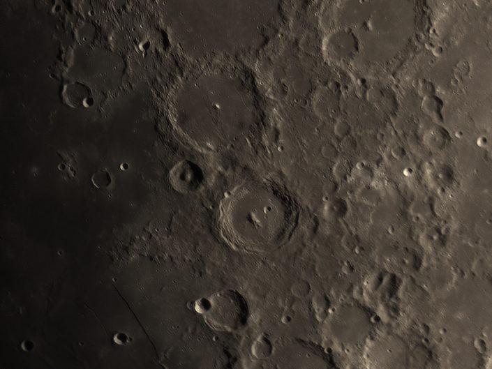 Moon (Ptolemaeus, Lalande, Purbach, Aliacensis), Krefeld, 2018-02-24
