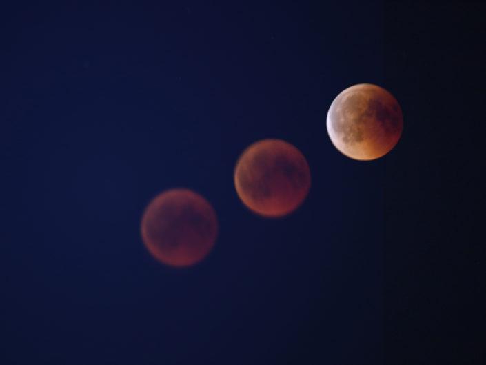Lunar Eclipse, Halde Norddeutschland, 2018-07-27