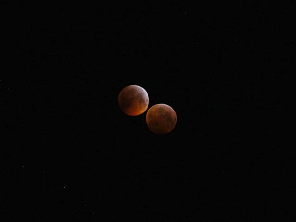 Lunar eclipse, Krefeld, 2019-01-21