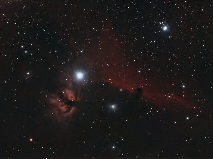 NGC 2024 - Flame Nebula (Flammennebel), Krefeld 2008
