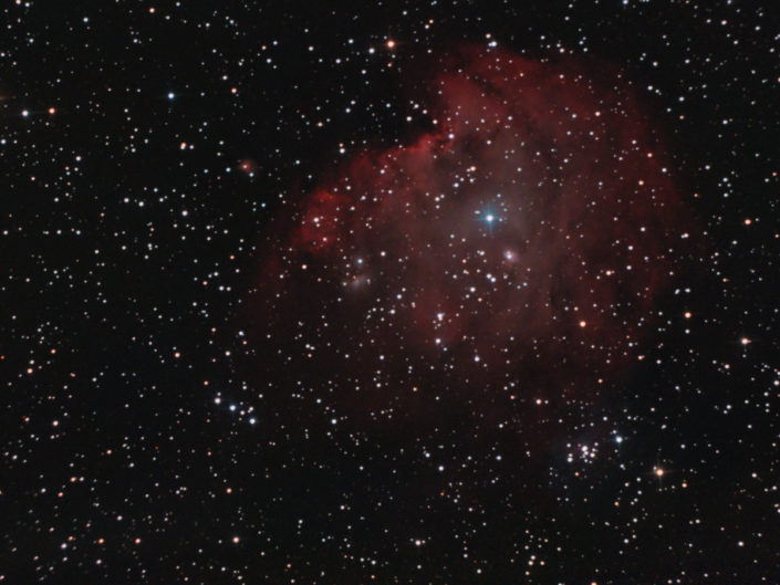 NGC 2174 - Monkey Head Nebula (Affenkopfnebel), Krefeld, 2011