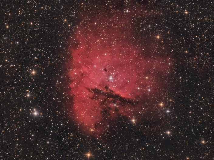 NGC 281 - Pacman Nebula (Pacman-Nebel), Krefeld, 2013
