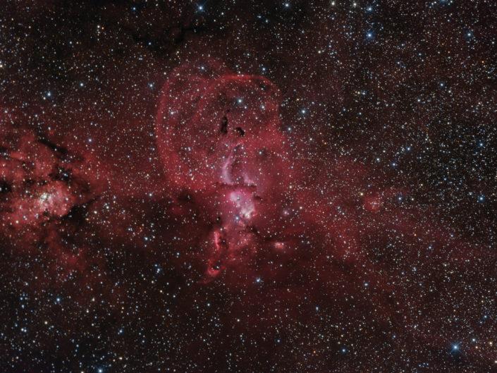 NGC 3576, Namibia, Tivoli, 2015