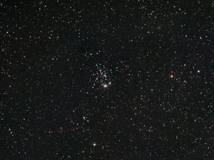 NGC 457 - Owl Cluster (Eulenhaufen), Krefeld, 2007