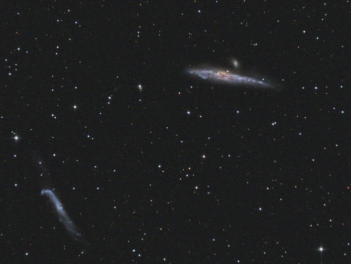 NGC 4631 and NGC 4656, Krefeld, 2013