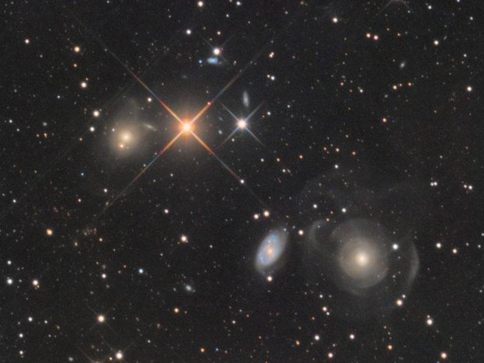 NGC 467, 470 and 474, Namibia, Tivoli, 2017