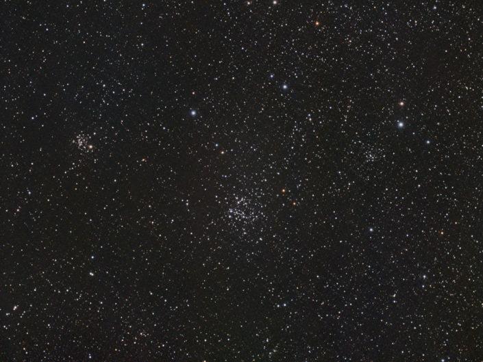 NGC 654, 659 and 663, Krefeld, 2010