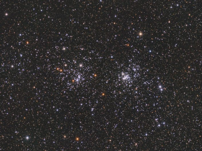 NGC 869 and NGC 884, Krefeld, 2016