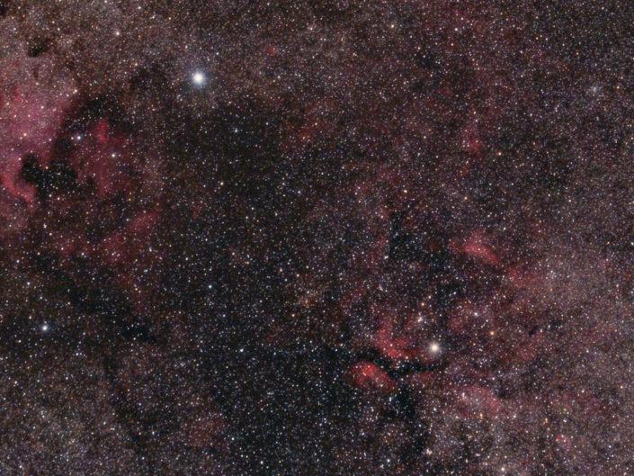 Nebulae in the constellation Cygnus, Namibia, Tivoli, 2008