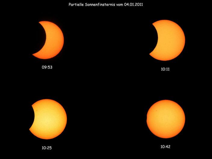 Solar eclipse, Krefeld, 2011