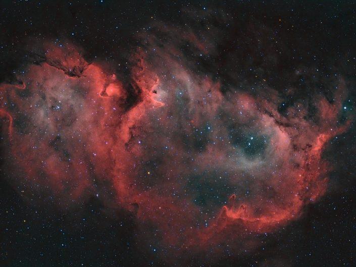 Soul Nebula (bicolor)