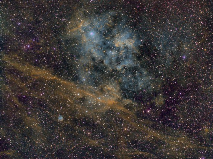 Sh2-115 (Hubble palette)